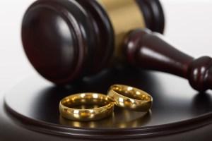 Family Law Court Gavel